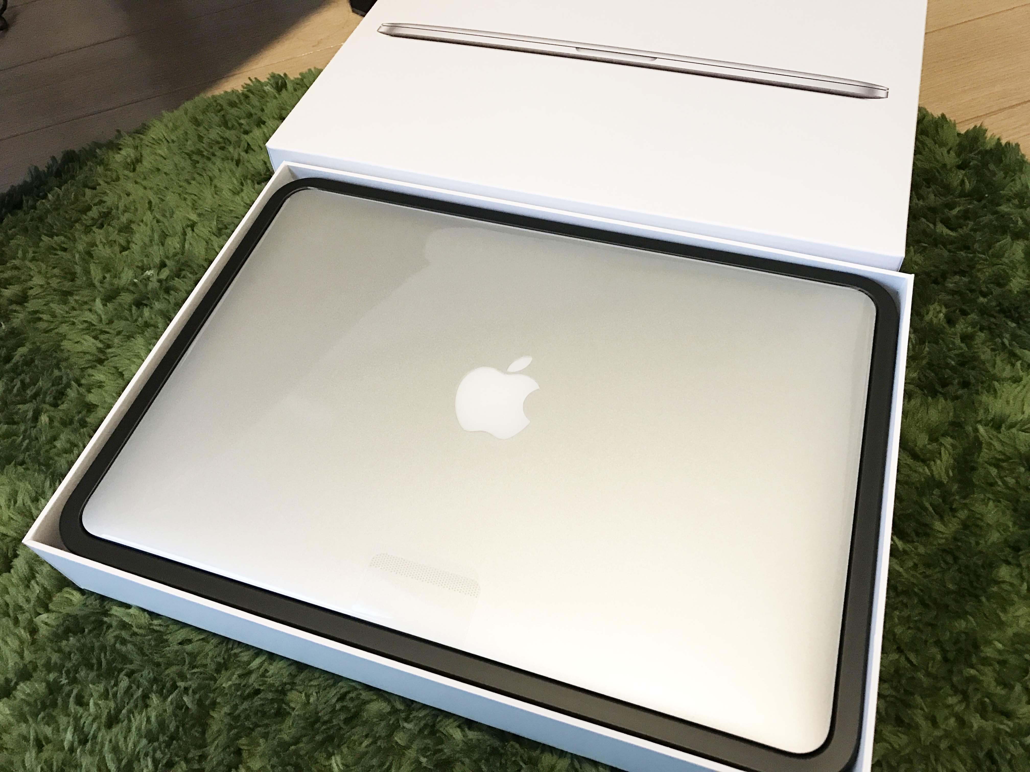 【Apple】MacBook Pro 13インチ MF839J/Aを購入しました。